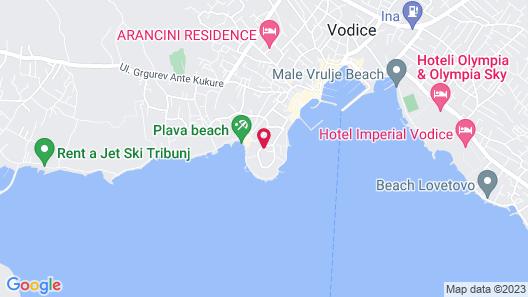 Hotel Punta Map