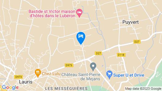 Domaine la Carraire  Map