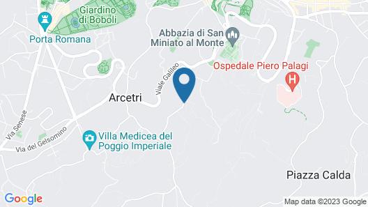 Art Hotel Villa Agape Map
