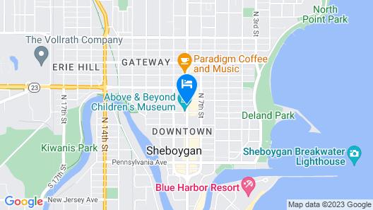 Fountain Park Motel Map