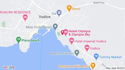 Hotel Miramare Map