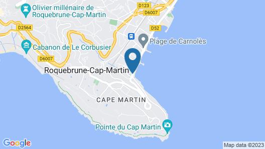 Hotel Victoria Map