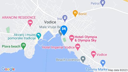 Matilde Beach Resort Map