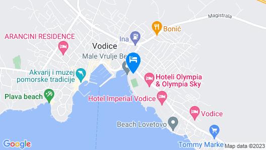 Hotel Olympia Sky Map