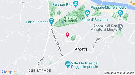 Villa Cora Map