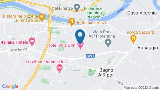 Villa Olmi Firenze Map