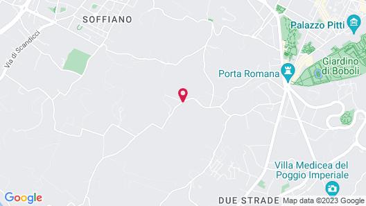 Villa Tolomei Hotel & Resort Map