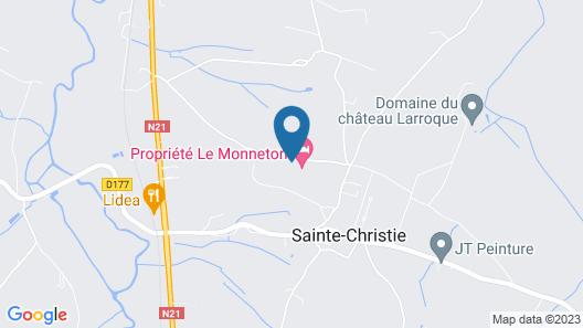 Propriété Le Monneton Map