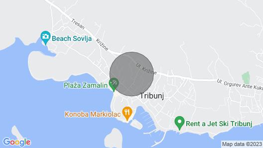 Apartments Mila Map