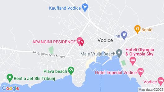 Arancini Residence Map