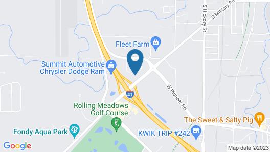 Microtel Inn & Suites by Wyndham Fond Du Lac Map