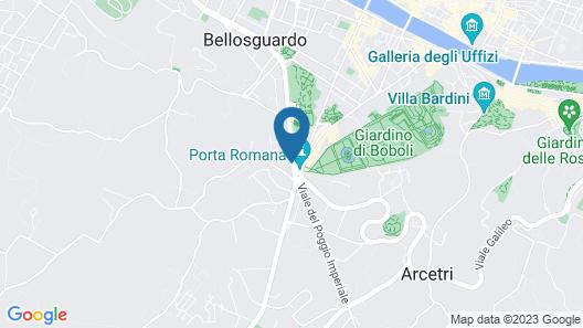 Il Terrazzino su Boboli Map