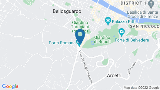 Convitto della Calza - Holiday Home Map