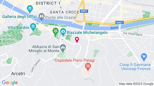 Villa La Vedetta Map