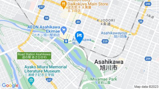 Hotel WBF Grande Asahikawa Map