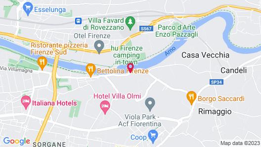 Mulino di Firenze Map