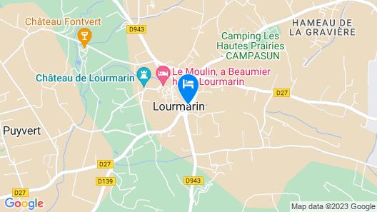 B&B Le Chat Sur Le Toit Map