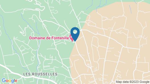Domaine de Fontenille Map