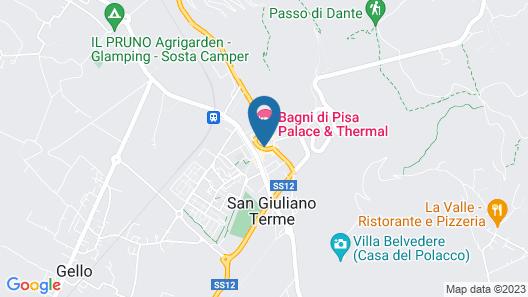Bagni di Pisa Map