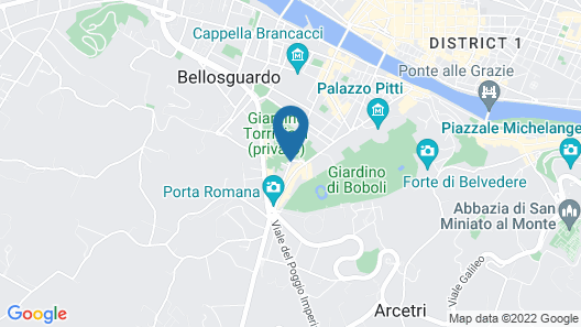 Drom Florence Rooms & Apartments Map