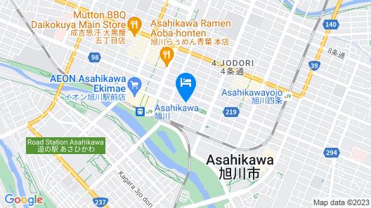 MORIHICO.Jstyle ASAHIKAWA Map