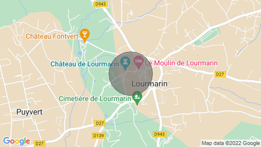 The Village House in the Heart of Lourmarin Map