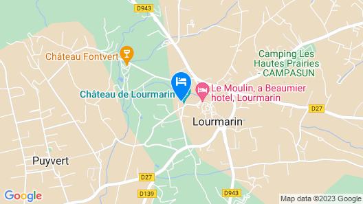 Maison La Colette Map