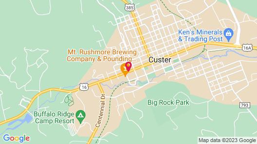 Rocket Motel Map