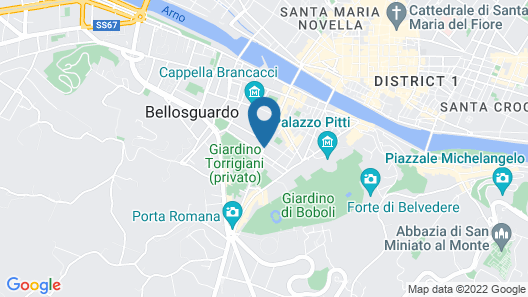 Ottantotto Firenze Map