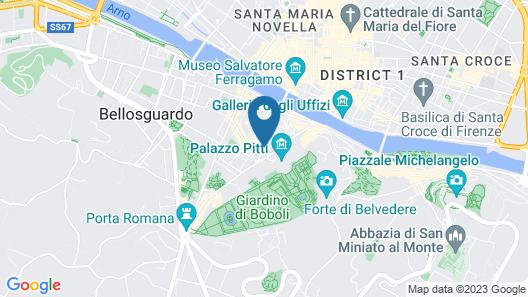 Soprarno Suites Map