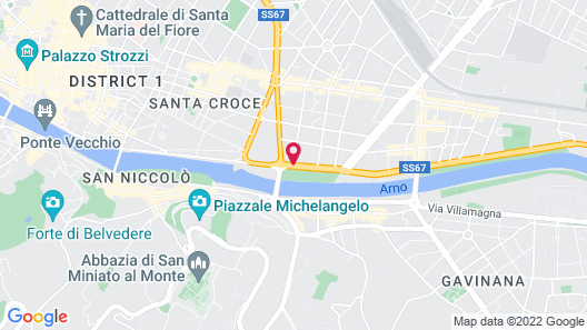 FH55 Grand Hotel Mediterraneo Map
