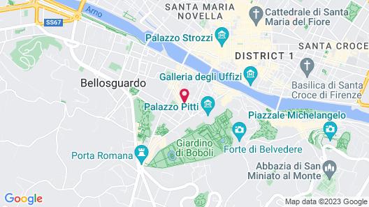 Hotel Palazzo Guadagni Map