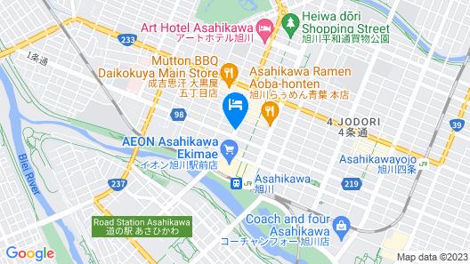 Smile Hotel Asahikawa Map
