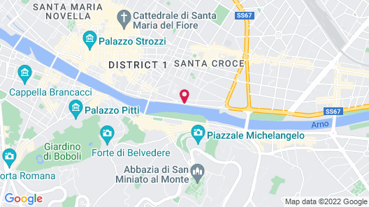 Plaza Hotel Lucchesi Map