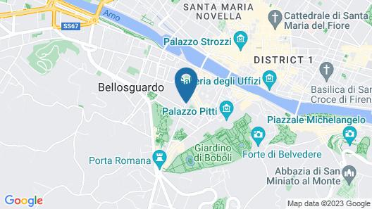 Foresteria Valdese di Firenze - Casa per Ferie Map