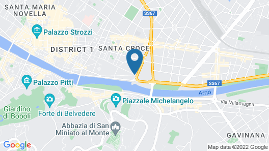 Hotel Home Florence Map