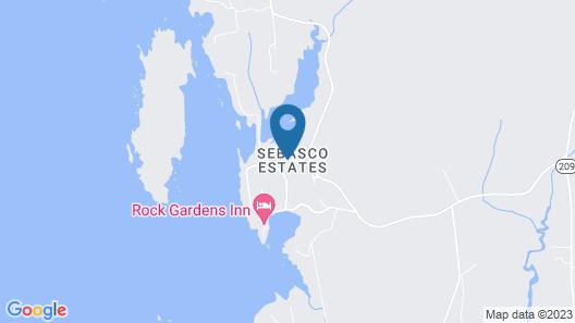 Sebasco Harbor Resort Map
