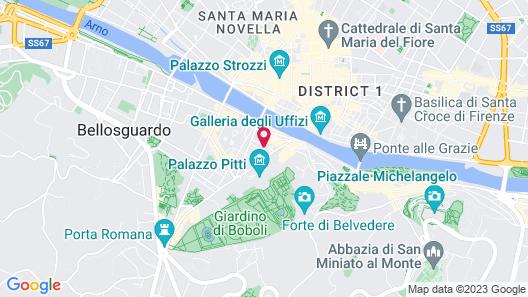 Pitti Luxury Terrace Map