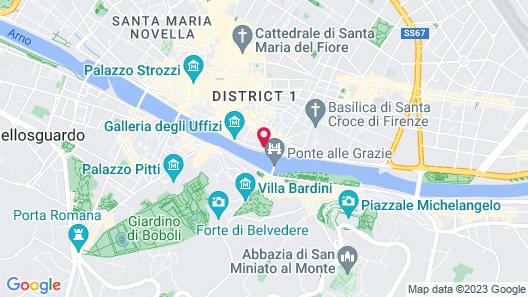 Hotel Balestri Map
