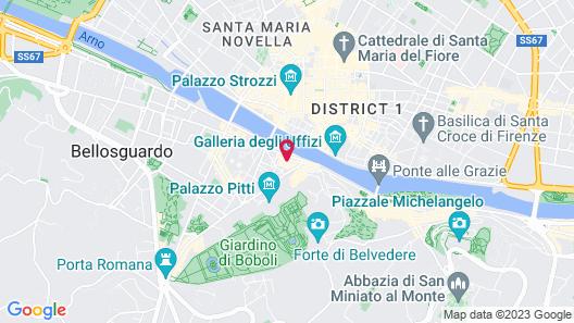 Ponte Vecchio Suites & Spa Map