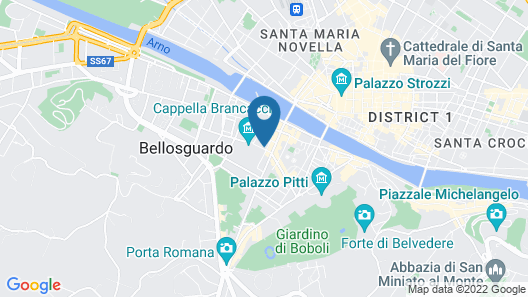 Hostel Santa Monaca Map