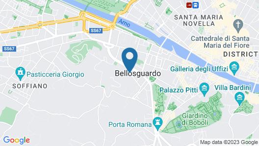 B&B Monte Oliveto Map