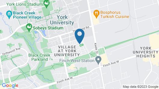 Quiet Room Around York University Subway Map