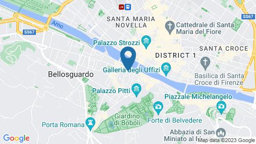 Palazzo Guicciardini Map