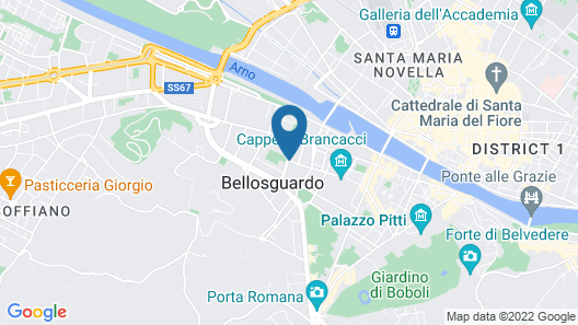 Hotel Horto Convento Map