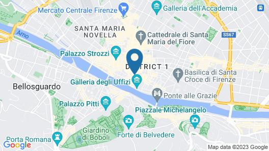 Signoria honeymoon apartment Map