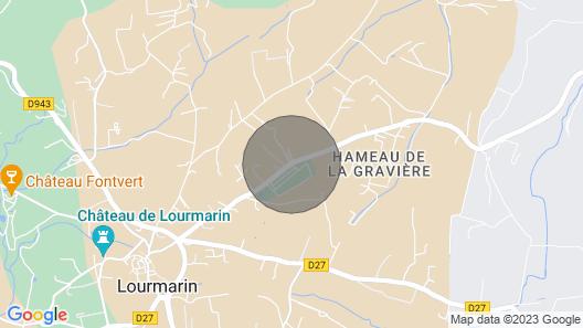 Bastide Blanche Map