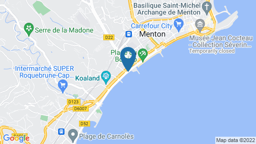 Hotel Riva Art & Spa Map
