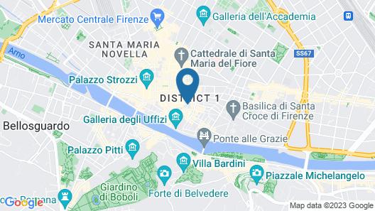 In Piazza della Signoria - Residenza d'Epoca Map