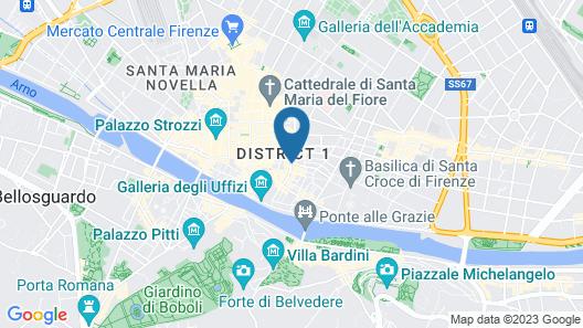 San Firenze Map
